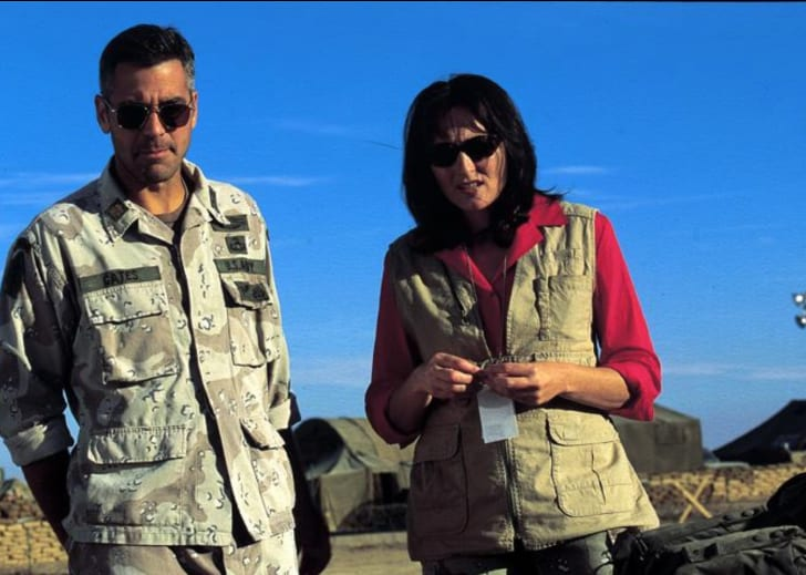 George Clooney and Nora Dunn in 'Three Kings' (1999)