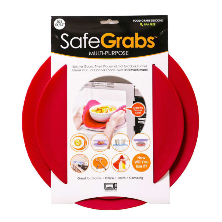 The Safe Grabs kitchen accessory is pictured