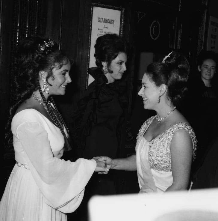 princess margaret with elizabeth taylor