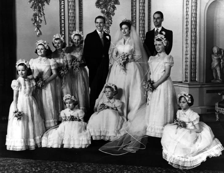 Princess Margaret's wedding to Antony Armstrong-Jones