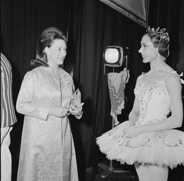 Princess Margaret at the ballet