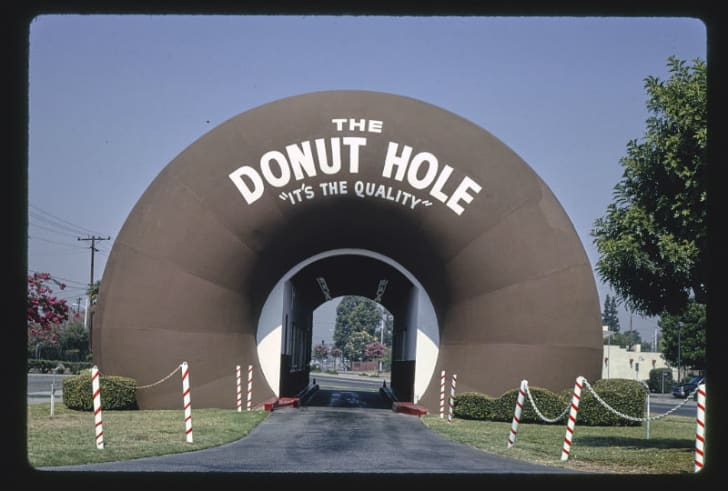 The Donut Hole in La Puente, California is pictured