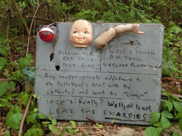 Doll's Head Trail in Atlanta