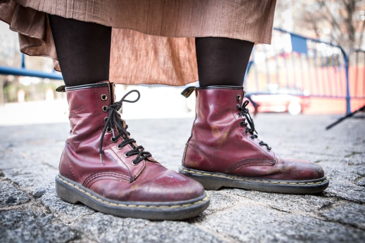 Doc Martens became a huge fashion trend in the 1990s.