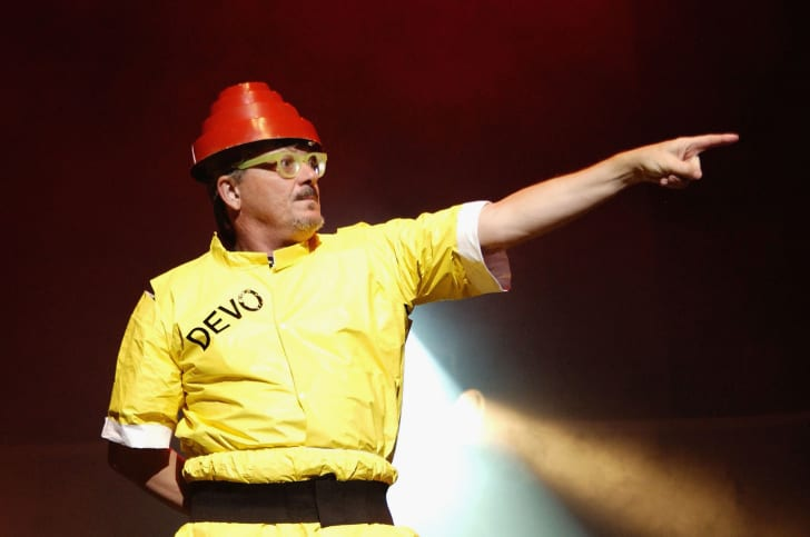 Devo lead singer Mark Mothersbaugh.