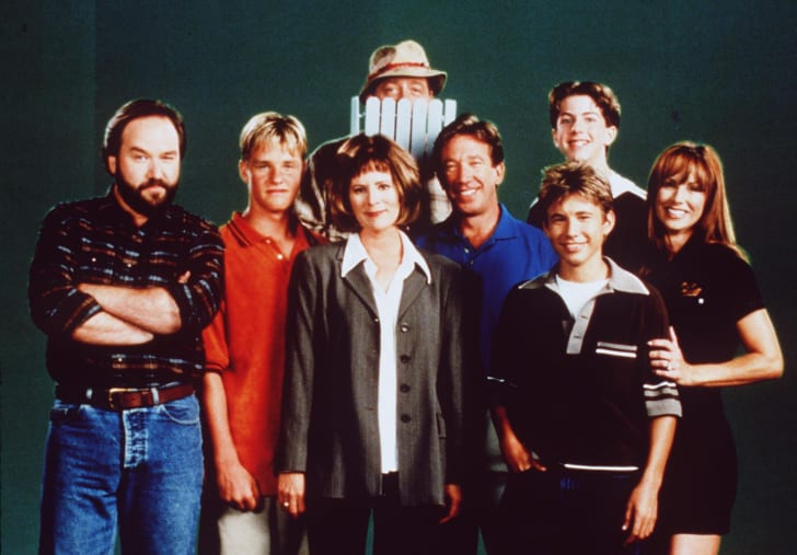 The cast of TV's 'Home Improvement.'