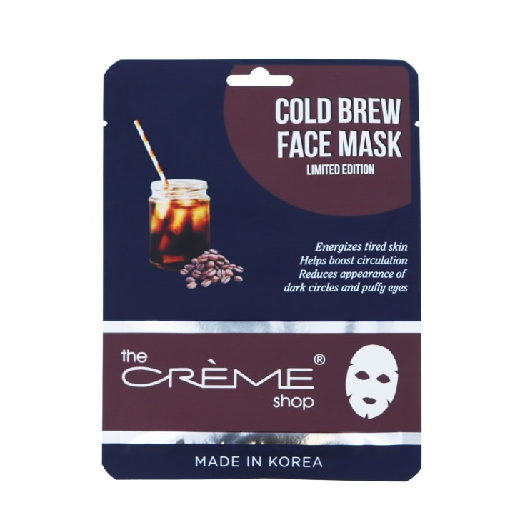 The Creme Shop's Cold Brew Face Mask