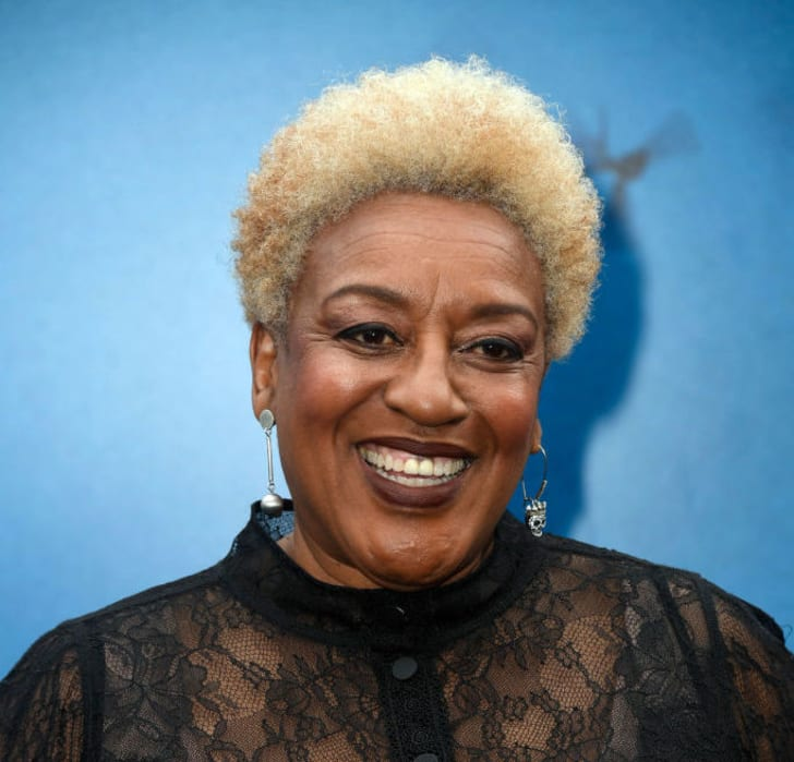 """C. C. H. Pounder attends the premiere of Warner Bros. Pictures and Legendary Pictures' """"Godzilla: King Of The Monsters"""" at TCL Chinese Theatre on May 18, 2019 in Hollywood, California"""