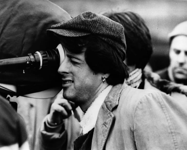 Actor Sylvester Stallone is pictured during production of the 1978 film 'Paradise Alley'