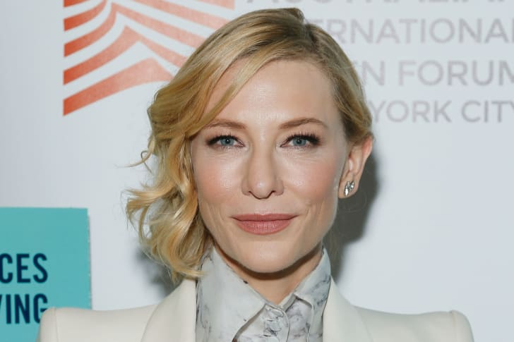 """Actress Cate Blanchett attends The Austin Film Society and Australian International Screen Forum """"Where'd You Go, Bernadette"""" private dinner at Lincoln Ristorante on August 11, 2019 in New York City"""