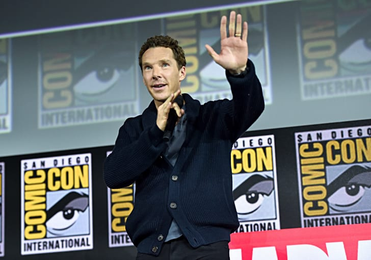 Benedict Cumberbatch of Marvel Studios' 'Doctor Strange in the Multiverse of Madness' at the San Diego Comic-Con International 2019 Marvel Studios Panel in Hall H on July 20, 2019 in San Diego, California