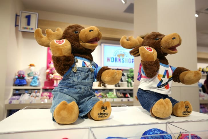 A Build-A-Bear Workshop display is seen at the Mall of America in Bloomington, Minnesota in September 2015