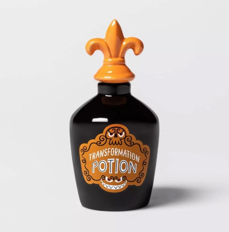 Transformation Potion Apothecary Jar Halloween Décor