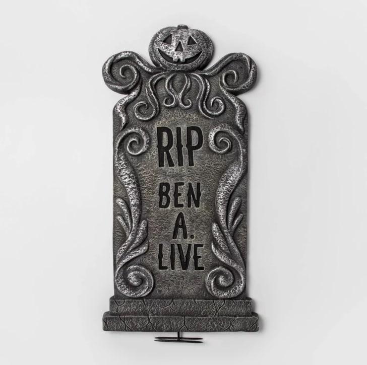 "36"" Ben A. Live Foam Tombstone"