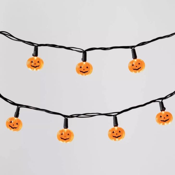 20ct LED Pumpkin Halloween String Lights