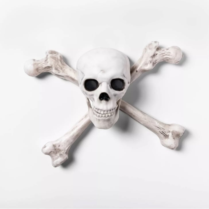 ight-Up Skeleton Crossbone Halloween Wall Decor