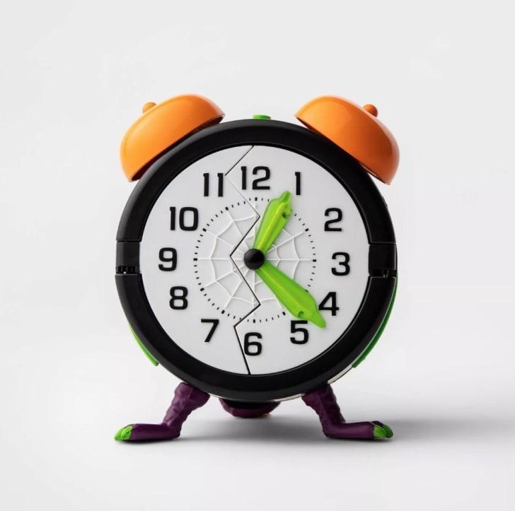 Animated Monster Alarm Clock Halloween Décor