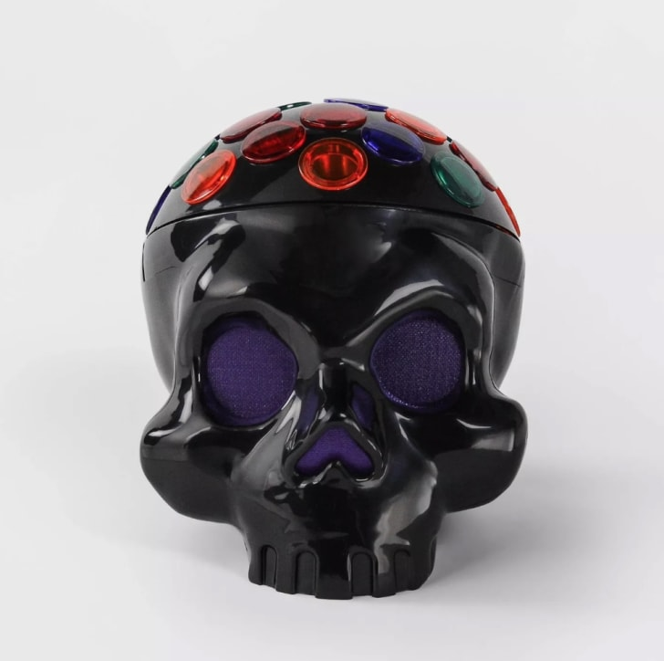 Animated LED Rotating Skull Halloween Projector