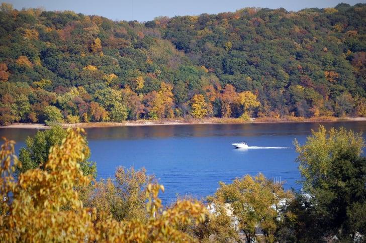 Stillwater Minnesota fall foliage