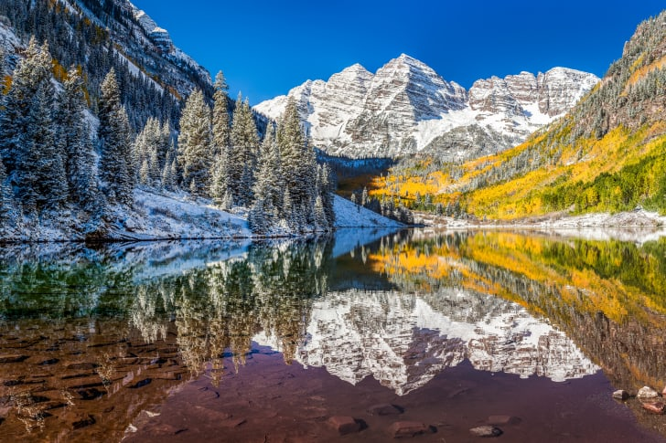 Aspen Colorado fall foliage