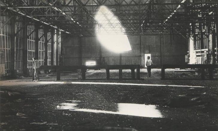 """Alvin Baltrop, Pier 52 (Gordon Matta-Clark's """"Day's End""""), 1975–1986."""