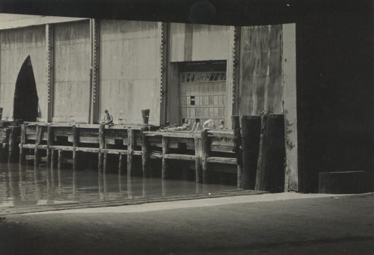 "Alvin Baltrop, Pier 52 (Gordon Matta-Clark's ""Day's End""), 1975–1986"