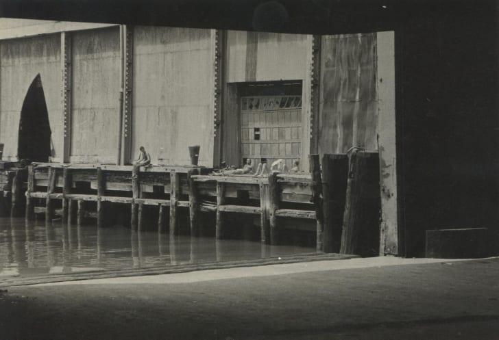 """Alvin Baltrop, Pier 52 (Gordon Matta-Clark's """"Day's End""""), 1975–1986"""