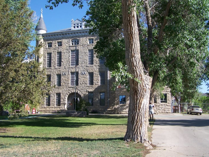 A picture of the Wyoming Frontier Prison.
