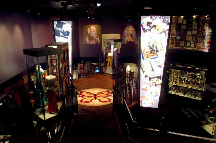 Dolly Parton's Chasing Rainbows Museum at Dollywood