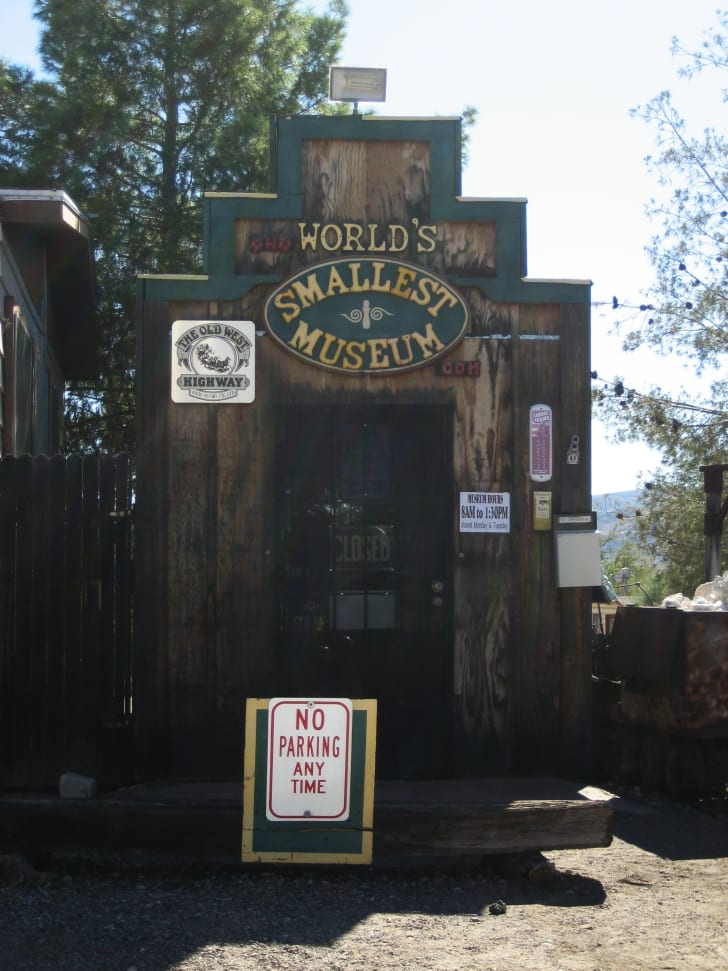World's Smallest Museum in Superior, Arizona
