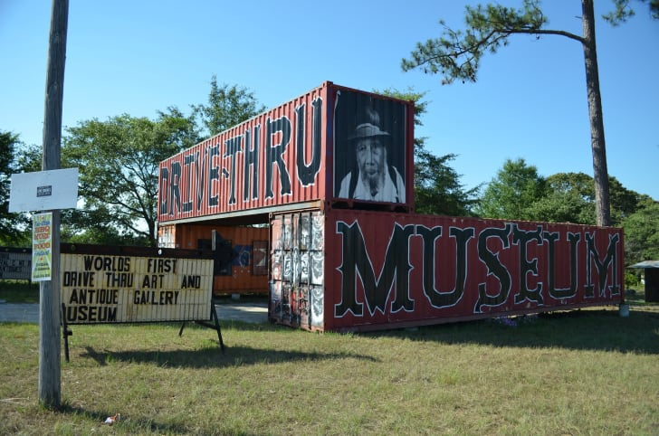 The Drive-Thru Museum in Seale, Alabama