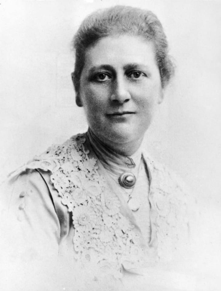 Author Beatrix Potter is pictured circa the 1890s
