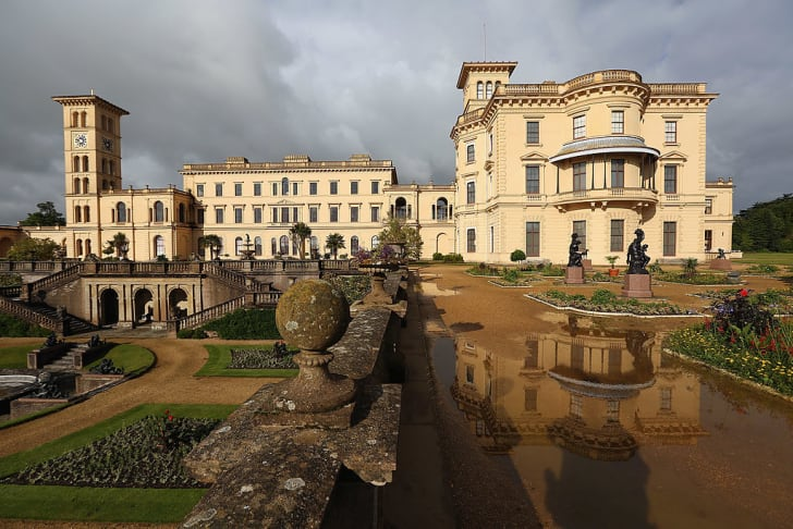 Osborne House on the Isle of Wight, Queen Victoria's holiday retreat