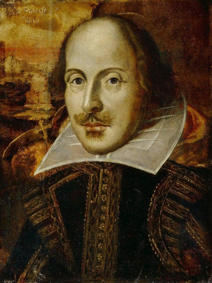 Shakespeare Flower Portrait