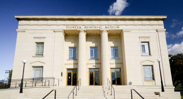 The Pioneer Memorial Museum, Salt Lake City, Utah