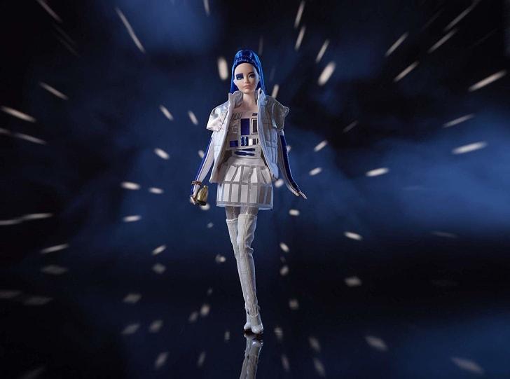 R2-D2 Barbie doll.