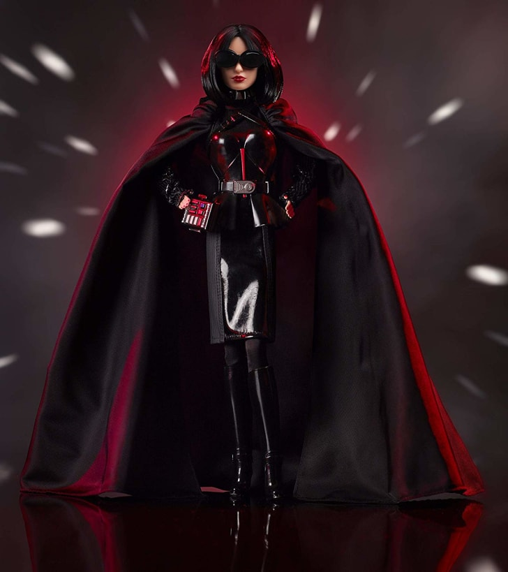 Darth Vader Barbie doll.