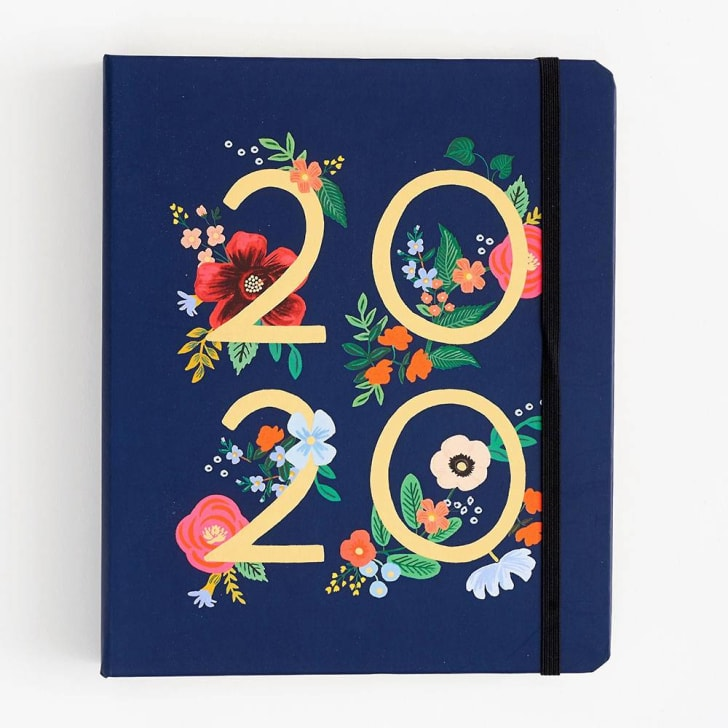 papersource wild rose large planner