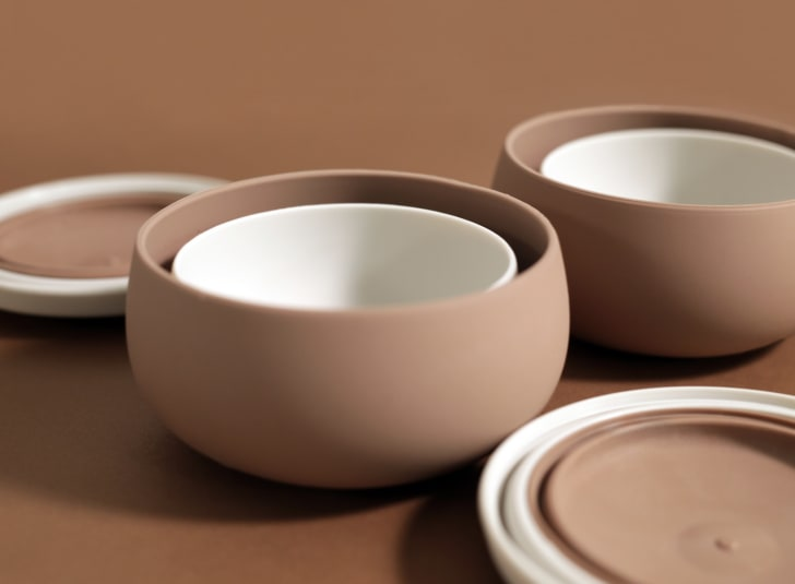 BesoVida chestnut brown bowls