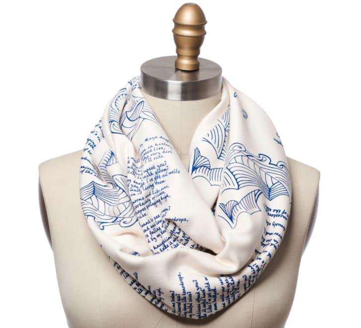 Storiarts' Still I Rise infinity scarf