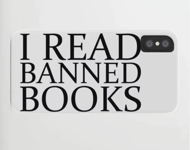 Society6's Banned Books iPhone case