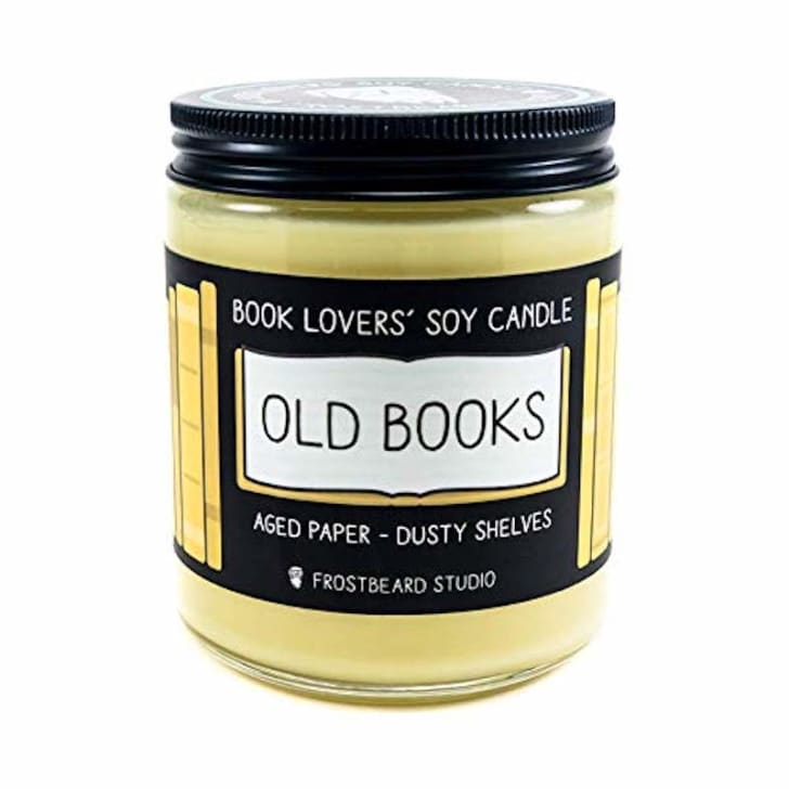 Old Books candle from Frostbeard Studio
