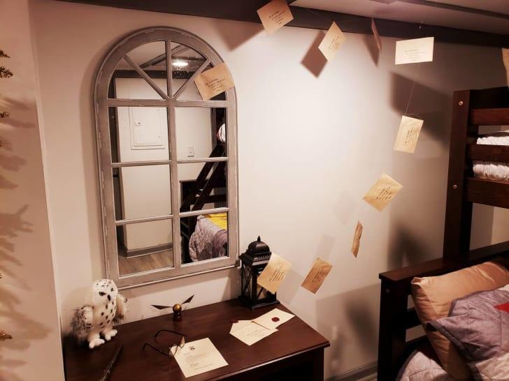Harry Potter Airbnb Atlanta bedroom