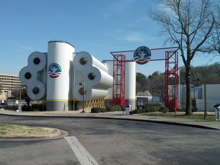 Space Camp in Huntsville, Alabama.