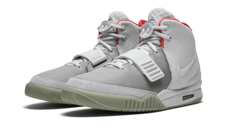 Nike Air Yeezy sneakers.