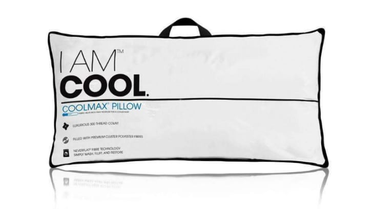 The I AM Cool Pillow is pictured