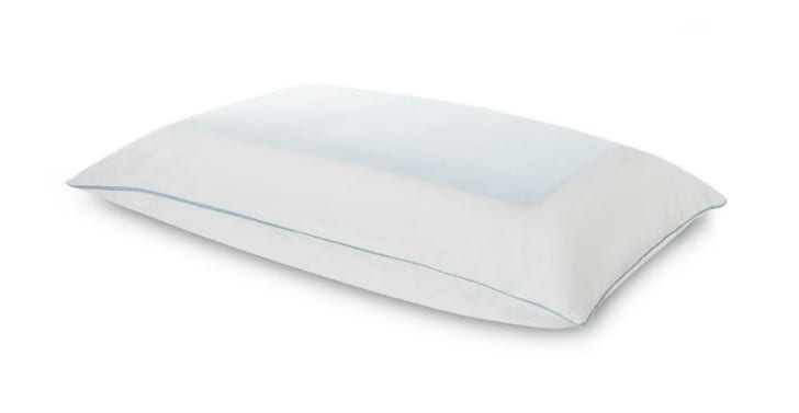 The TEMPUR-Cloud Breeze Pillow by Temper-Pedic is pictured