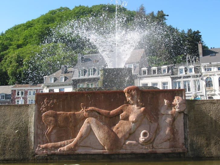 fountain in Spa, Belgium