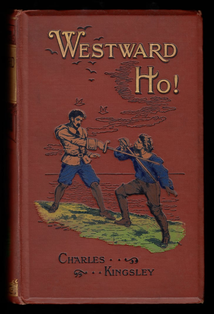 book cover of Westward Ho! by Charles Kingsley