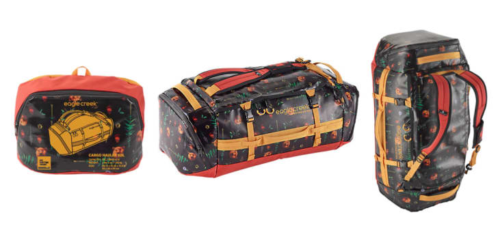 An Eagle Creek cargo backpack